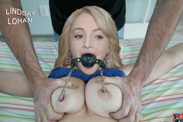 Lindsay lohan blowjob fake — photo 7