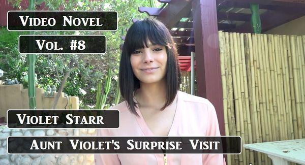 Video Novel – Violet Starr – Aunt Violet's Surprise Visit HD 1080p