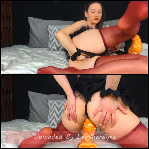 Thick Bad Dragon Dildo Stretching Pussy with AdalynnX