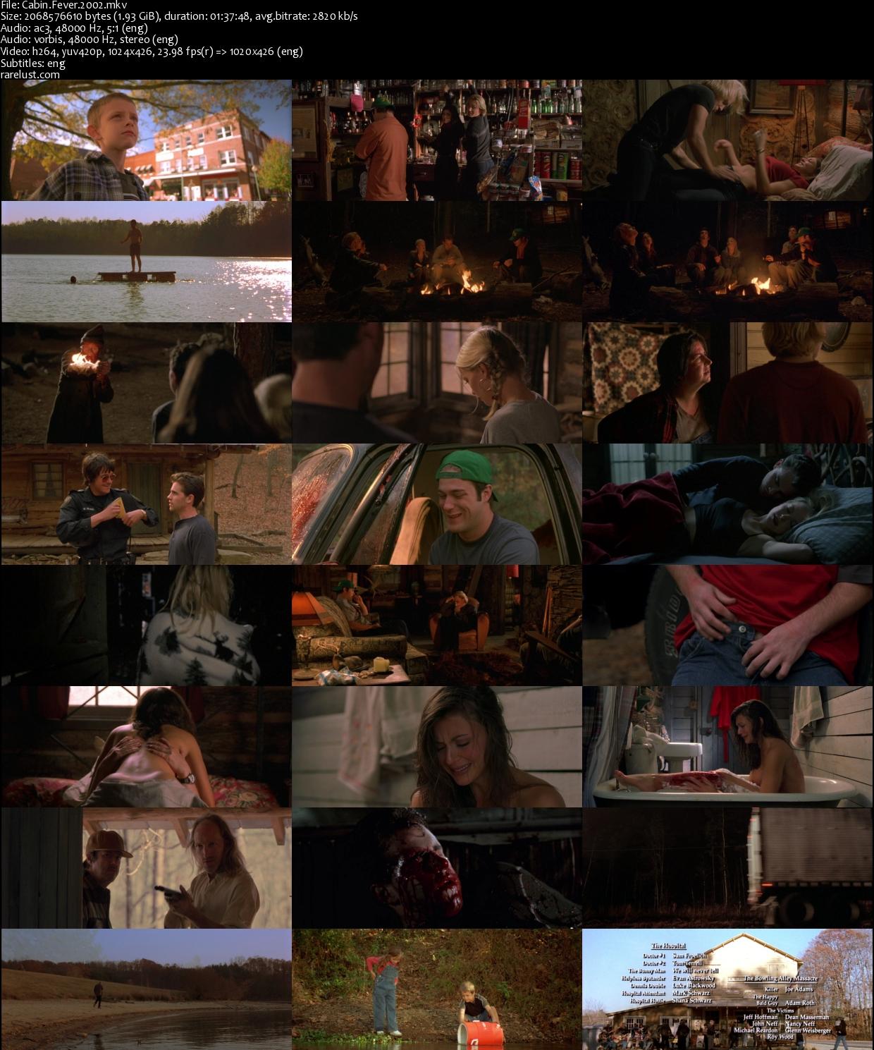 Cabin Fever (2002) BRrip [1.93GB]