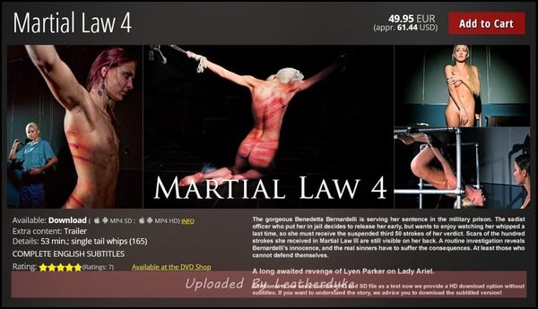 MARTIAL LAW 4 | HD 720p | Saki Saki: Mayu 23 2018