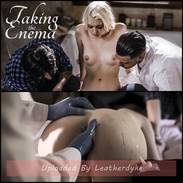 Taking The Enema with Chloe Cherry