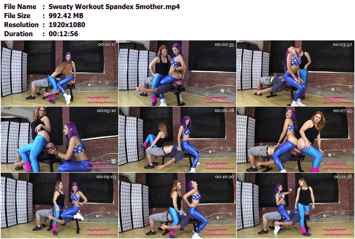 spandex facesitting videos