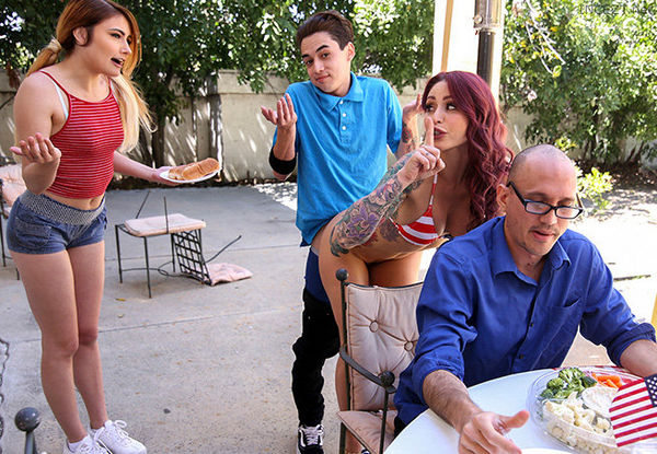 Monique Alexander, Adria Rae – Awesome 4th Of July Threesome HD [Untouched 1080p]