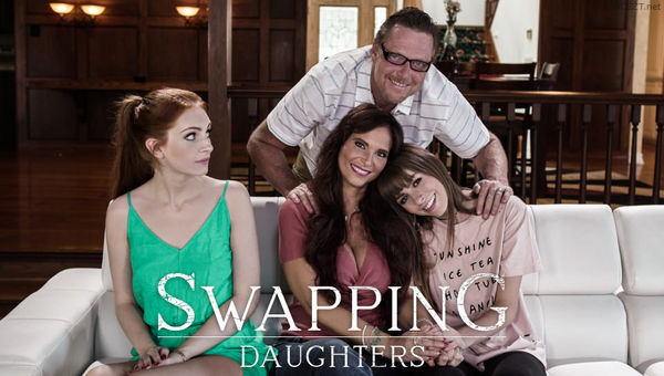 Alex Blake & Syren De Mer – Swapping Daughters HD [Untouched 1080p]