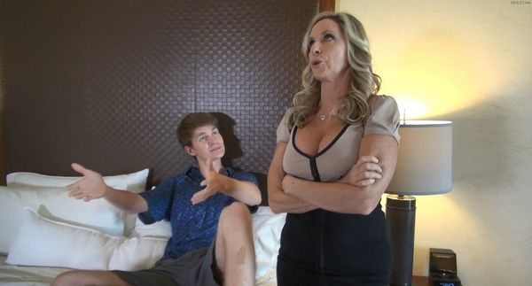 Mother Caught Her Son With Her Panties HD
