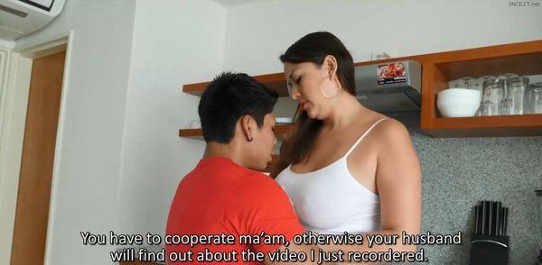 Latina Wife Blows Friend