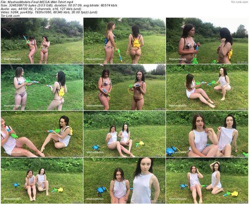 MashasModels Sarah and Alice Final MEGA Wet Tshirt video