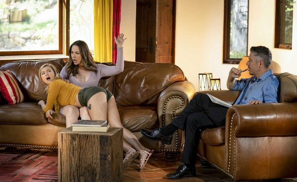 Step Mom Lessons – Carolina Sweets, Chanel Preston – The Sessions Part 8 HD [Untouched 1080p]
