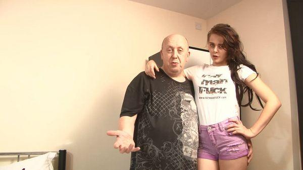 Tara Tease Meets Fat Man Fuck HD