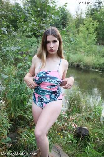 MashasModels Sarah - Can't Stay In Her Swimsuit set