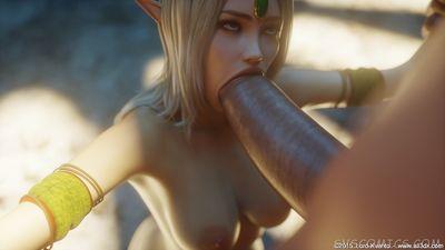 [3D Porn Comic] [Lord Kvento] Naura - The Strange Place [rape]