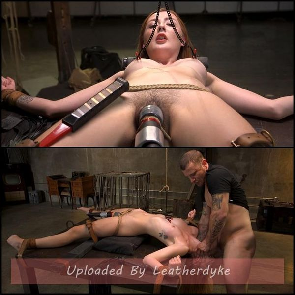 Redheaded Girl Next Store Megan Winters Fucked in Brutal Rope Bondage! | HD 720p | Release Year: Oct 24, 2018