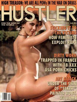 k4nfkanssjhn Hustler USA   December 1992 (Magazine)
