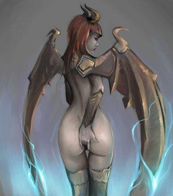 Girl hentai demon Demon Hentai