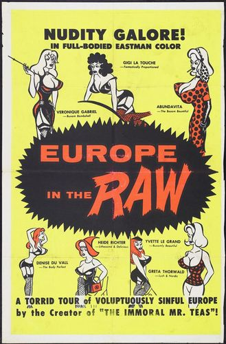 7xfbbcpx3j3s Europe in the Raw (1963)