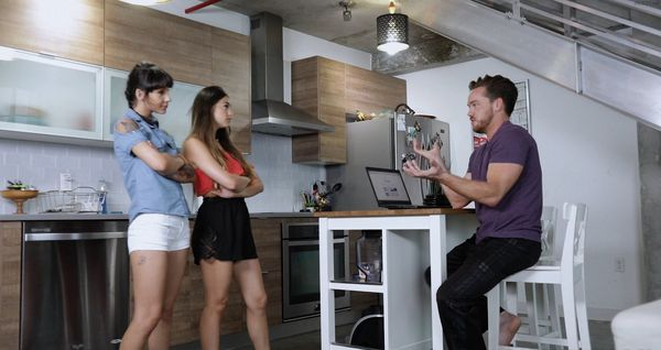 Kitty Carrera and Sofie Reyez – Sibling Sex Triangle HD [Untouched 1080p]