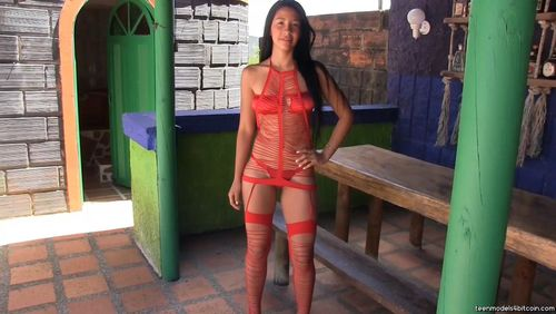 TeenModels4Bitcoin Yeraldin - video 4 Red Lingerie