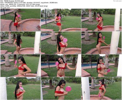 TeenModels4Bitcoin Susana - video 5 Red Bikini