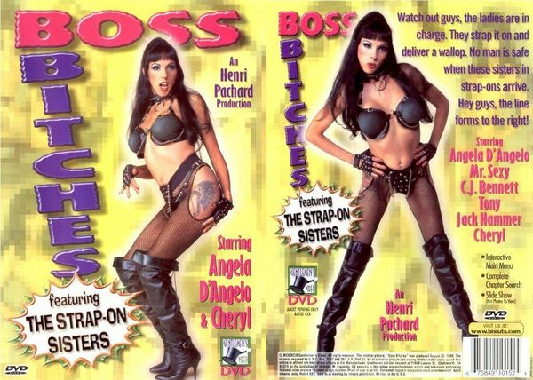 [Gentlemen's Video] Boss Bitches #1 - Featuring The Strap-On Sisters (1999) [Angela D'Angelo]