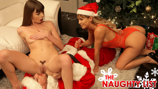 The Naughty List – Alex Blake, Cherie Deville HD [Untouched 1080p]