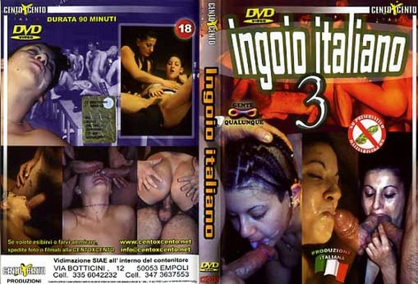 [Cento X Cento] [CXD038] Ingoio Italiano #3 (2002) [Patrizia Bacci]