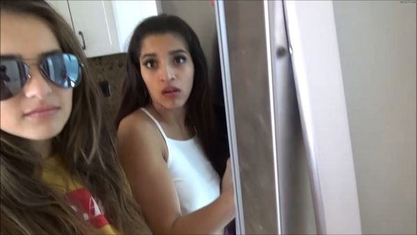 The Helpful Brother – Sofie Reyes & Gabriela Lopez HD MP4