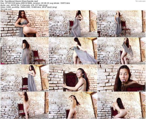TeenMarvel Naomi – Sheer Sparkle video