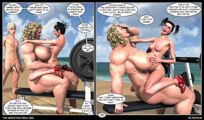 [3D Porn Comic] [Piltikitron] The Indestructible Girl [futanari]