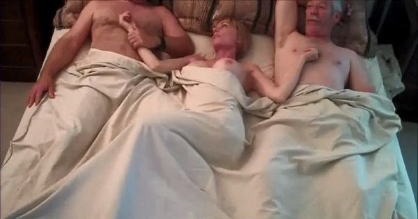 Cuckold Threesome With Hubby And His Dad