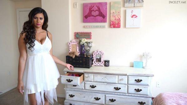 Caught In Sister's Underwear Drawer – Adrienne B HD