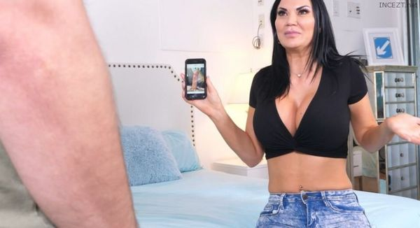 MY STEPSON'S DICK PIC – Jasmine Jae HD [Untouched 1080p]