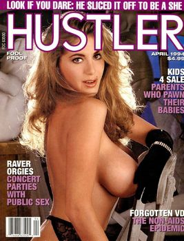 mkmvhla7y6ir Hustler USA   April 1994 (Magazine)