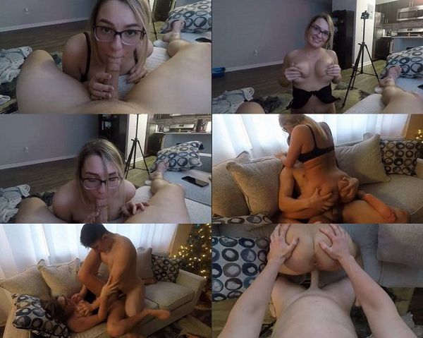 Amateurs taking first big cock