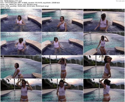 TeenModels4Bitcoin Mellany - video 11 Wet Tank Top