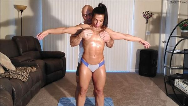 Oil Up Sis and Give Her Protein – Alexis Rain HD