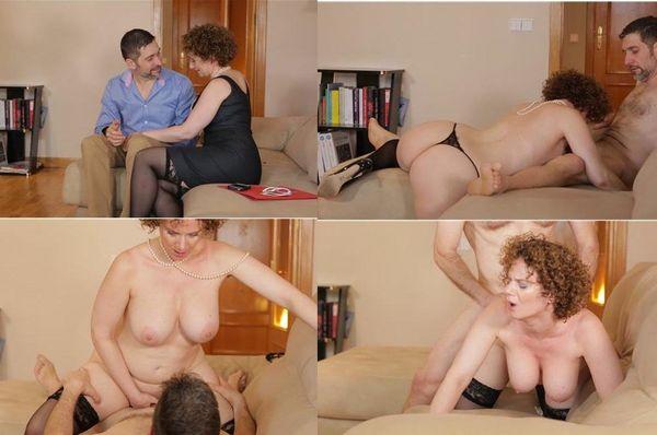 mobile porn video Gorgeous brunette sex orgy