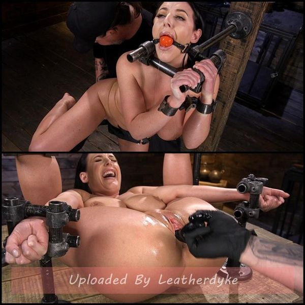 Angela White Begs to Suffer For Her Master in Metal Bondage | HD 720p | Release Year: March 07, 2019