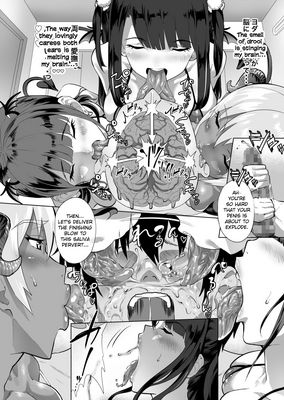 [Doujinshi] [Navier Haruka 2T] Deli Succu 2 ~DeliHeal Yondara Succubus 3-nin ni Tabetsukusareta Repo~ [English] [Digital] tongue