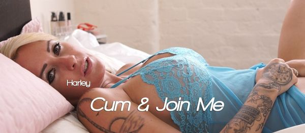 Cum And Join Me [WankItNow] Harley (395 MB)