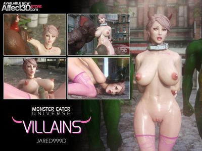 [3D Porn Comic] [Jared999D] Monster Eater Universe - Villains [demon girl]
