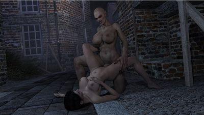 [3D Porn Comic] [Ironrooroo] Nosferatu [vampire girl]