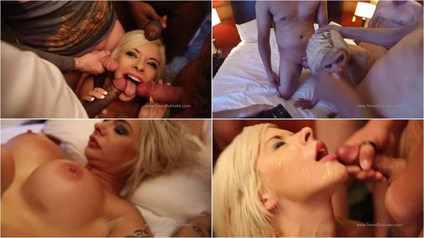 First Gangbang And Bukkake [TexasBukkake] Sara St Clair (1.19 GB)