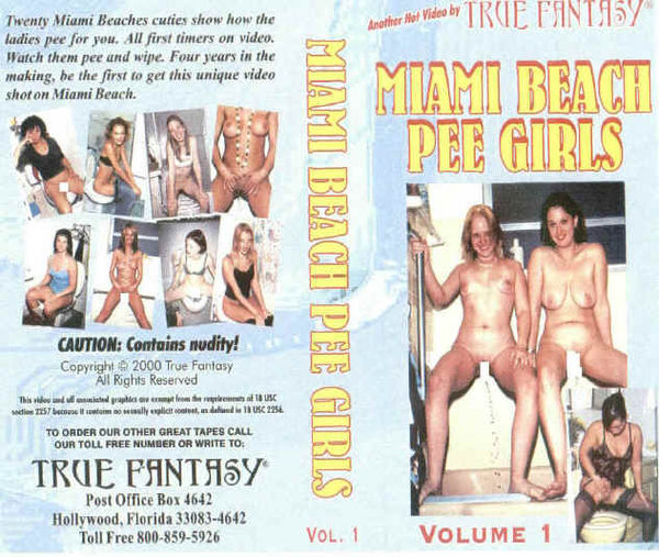 [True Fantasy] Miami Beach Pee Girls #1 (2000) [Amateur]