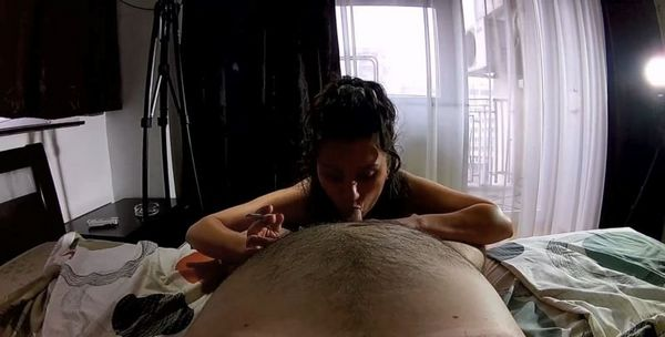 Daddy's Fat Ass Amateur Girl in POV HD