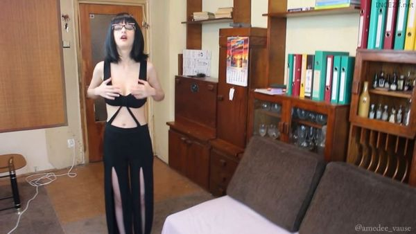The New Dress – A blowjob & fuck to thank my brother! – Amedee Vause HD