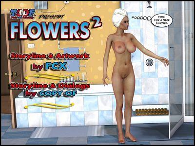 [3D Porn Comic] [Y3DF] The Flowers Part 1-3 [incest]