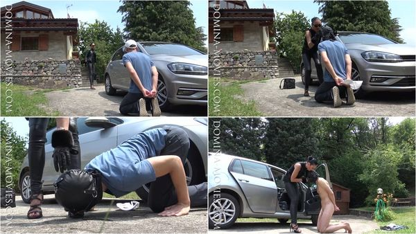 Car Wash Slave [Domina-Movies] Madame Catarina (720p)