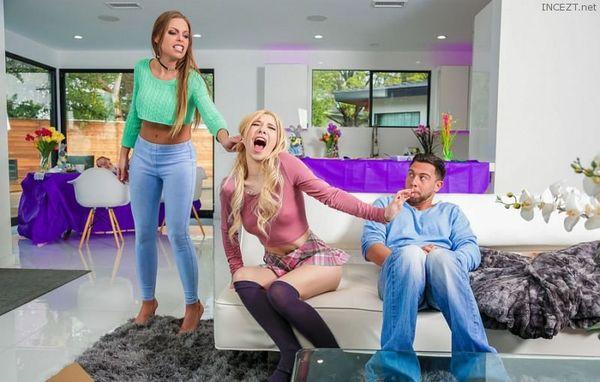 Easter Dinner At Stepmoms – Britney Amber, Kenzie Reeves HD [Untouched 1080p]