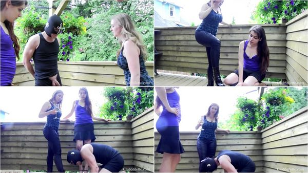Balls Busted Badly [ClubStiletto] Mistress T (1080p)